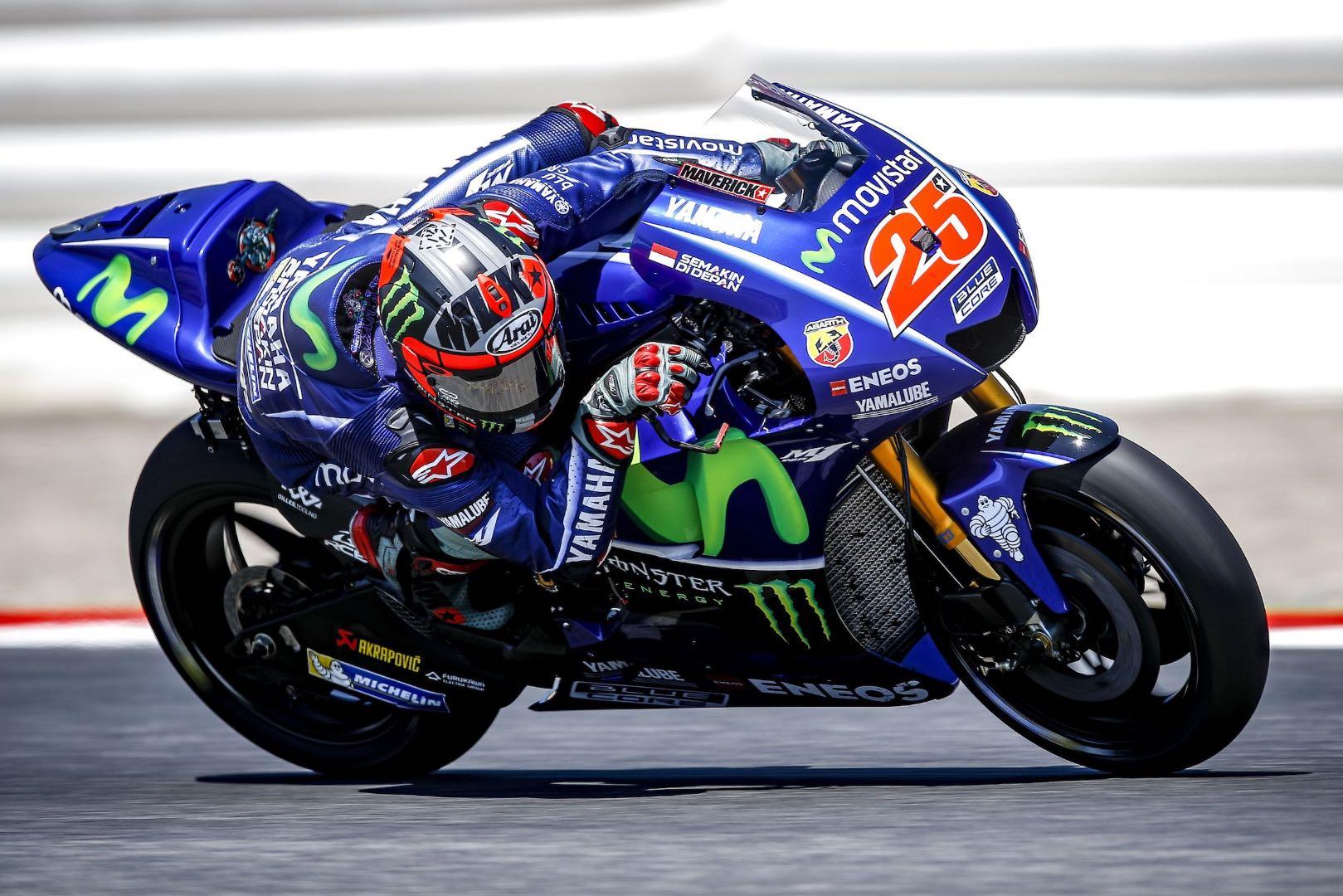2017 Catalunya MotoGP Test: Yamaha's Maverick Vinales