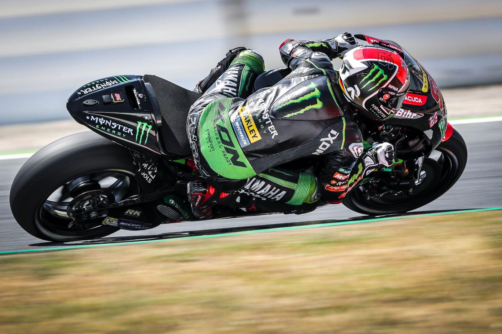2017 Catalunya MotoGP Test: Yamaha's Jonas Folger