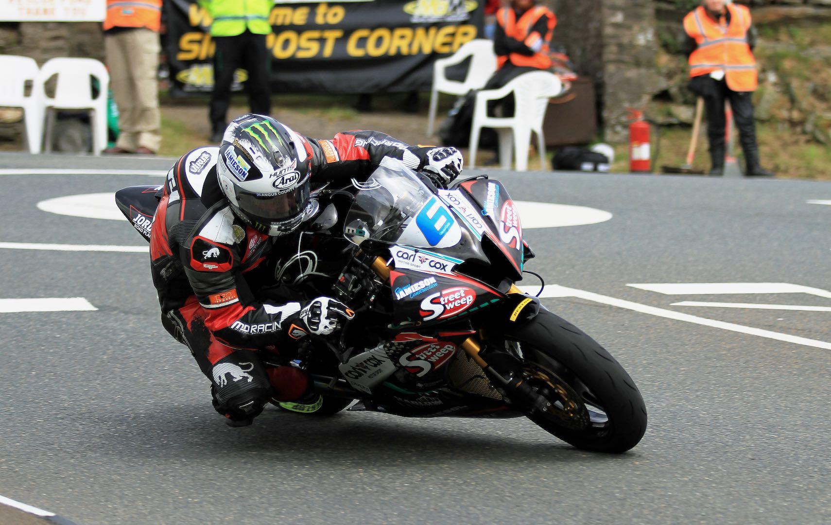 2017 Monster Energy Supersport 1 TT: Yamaha's Michael Dunlop