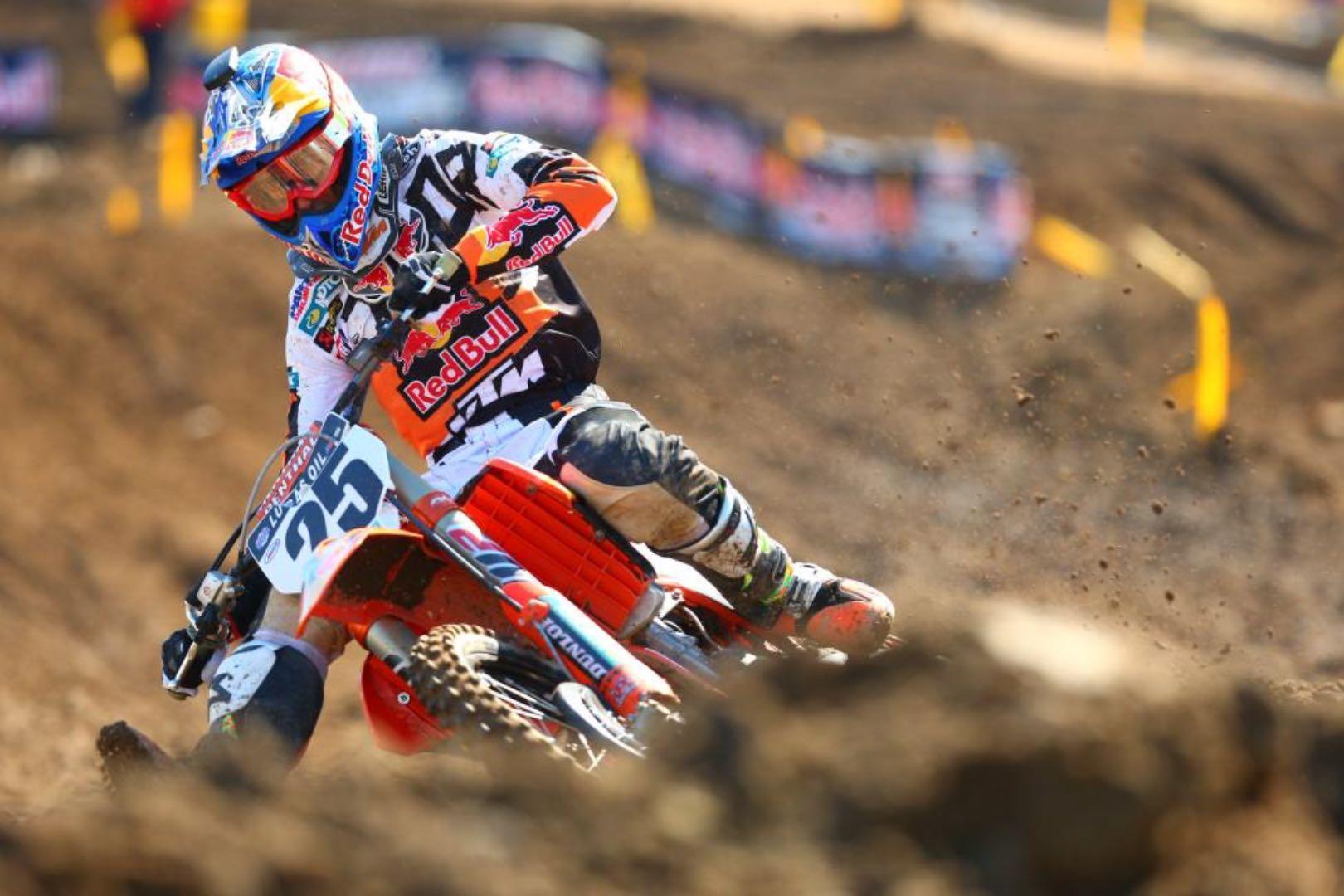 2017 RedBud Motocross: KTM's Marvin Musquin