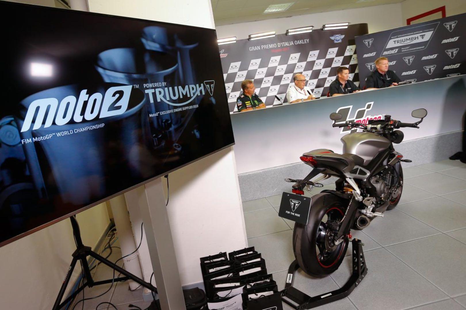 Triumph Official Moto2 Engine Supplier