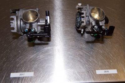 2018 Yamaha YZ450F fuel injection