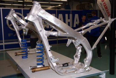 2018 Yamaha YZ450F chassis and frame