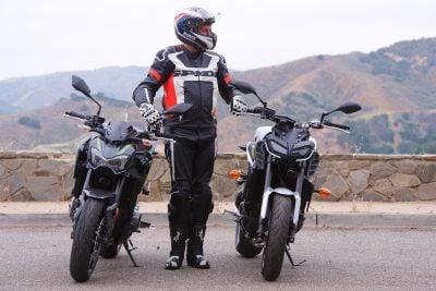 Kawasaki Z900 Vs. Yamaha FZ-09 test