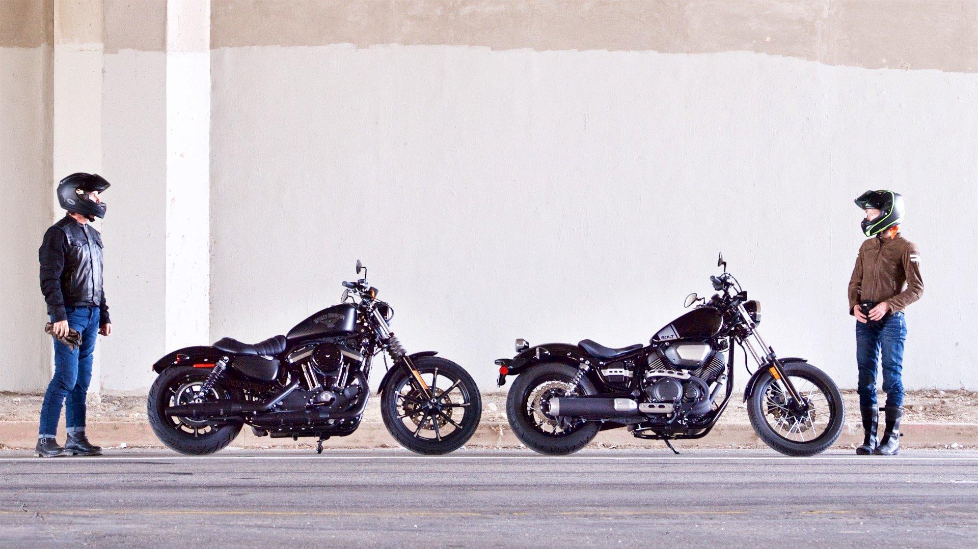 2017 Harley-Davidson Sportster Iron 883 vs. Yamaha Star Bolt