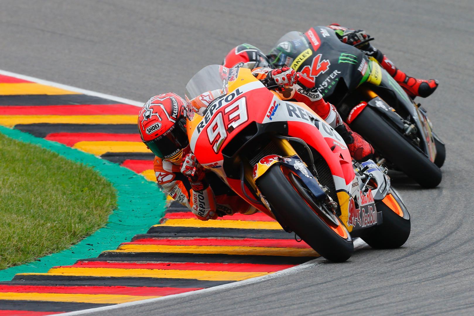2017 Sachsenring MotoGP Results: Germany Grand Prix Results: Honda's Marc Marquez