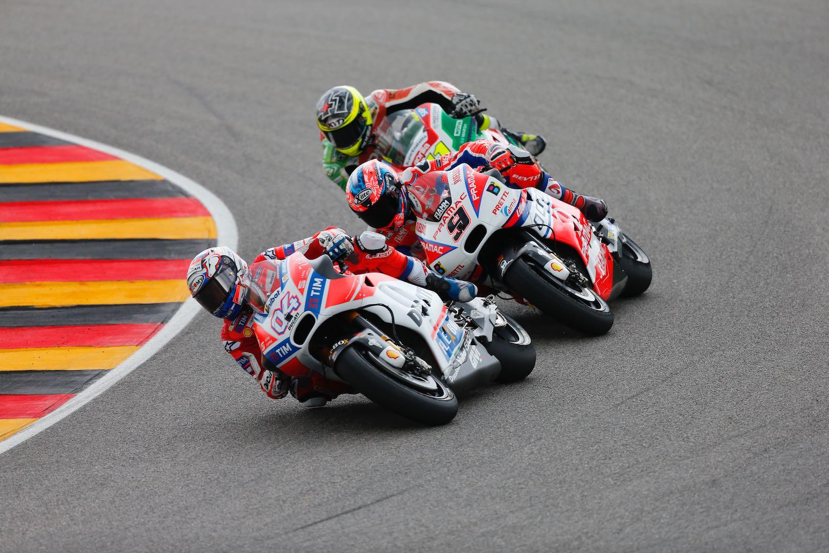 2017 Sachsenring MotoGP Results: Germany Grand Prix Results: Ducati's Andrea Dovizioso