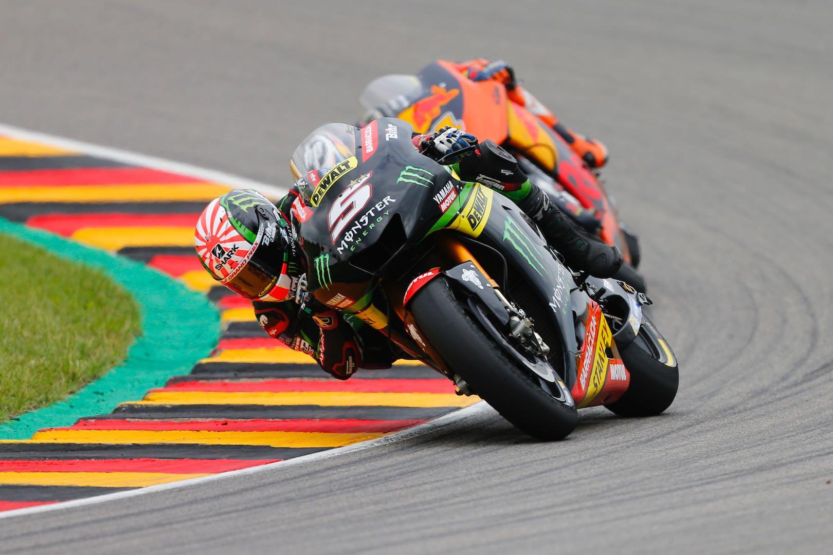 2017 Sachsenring MotoGP Results: Germany Grand Prix Results: Yamaha's Johann Zarco