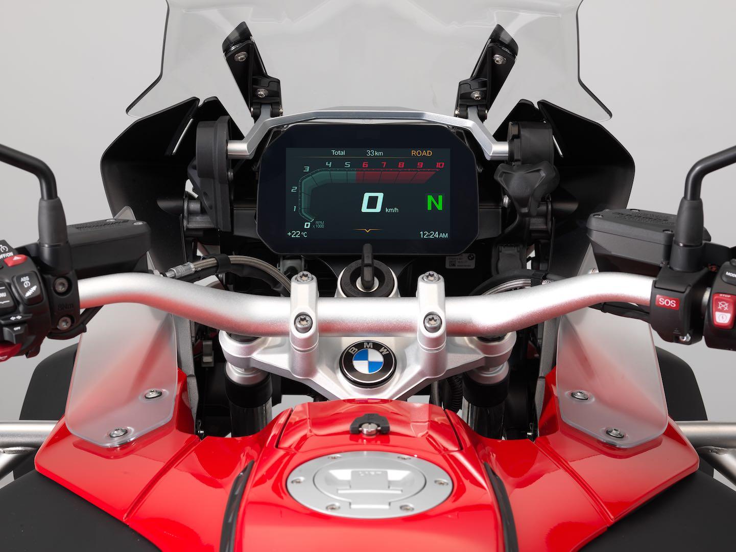 2018 BMW R 1200 GS Adventure Connectivity Display