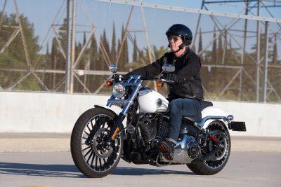 2017 Harley-Davidson Softail Breakout seat height
