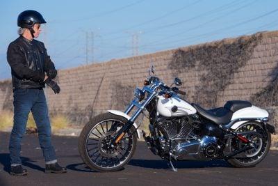 2017 Harley-Davidson Softail Breakout wheel size