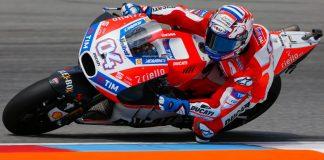 Ducati's Dovizioso leads Friday Brno MotoGP practice