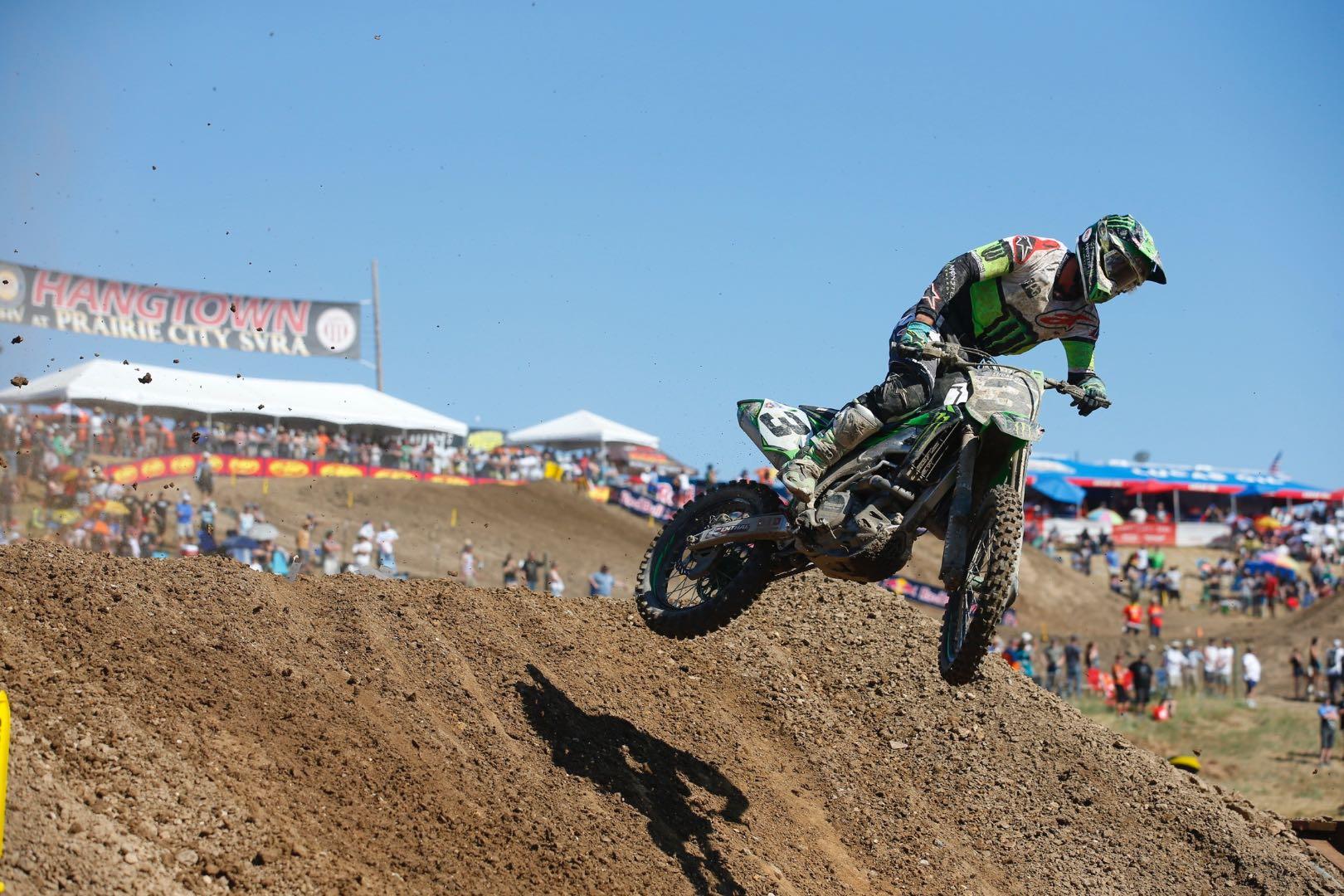 2017 Budds Creek Motocross: Kawasaki's Eli Tomac