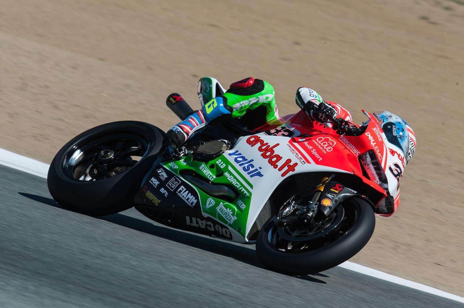 Marco Melandri Extends Ducati Contract for 2018 WorldSBK