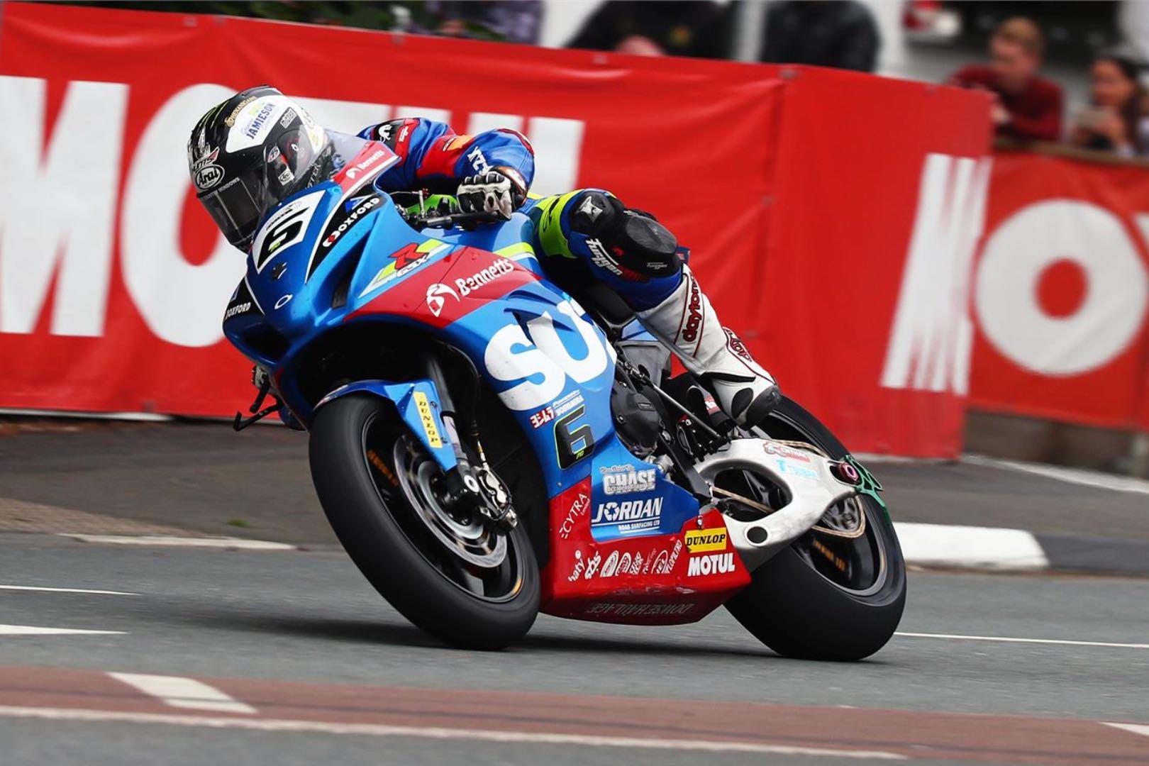 Michael Dunlop WOT on GSX-R1000: Senior TT Video