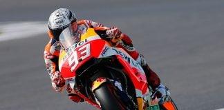 2017 Silverstone MotoGP Qualifying: Respsol Honda's Marc Marquez