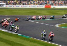 2017 Silverstone MotoGP Results Start of Race