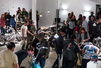 Custom Motorcycle Show in Brooklyn