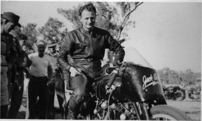 Jack Ehert Vincent Motorcycle