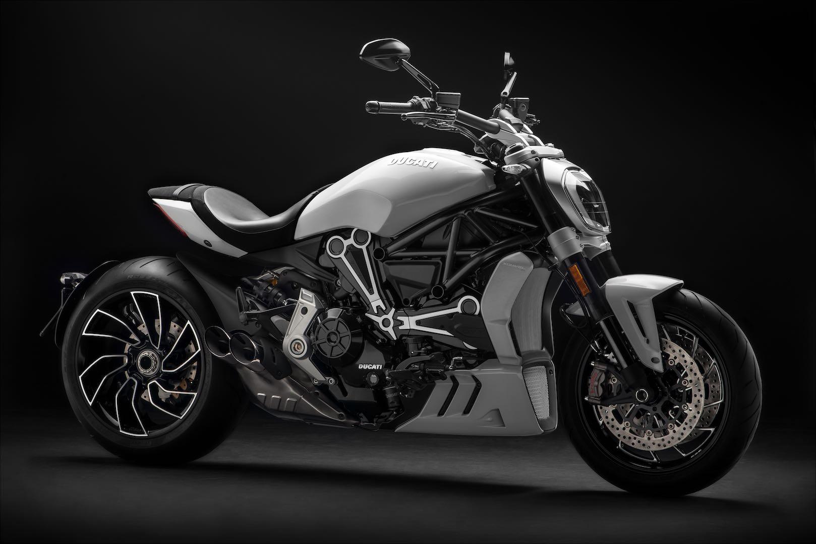 Iceberg White Ducati XDiavel S Unveiled at Faaker See Custom Show