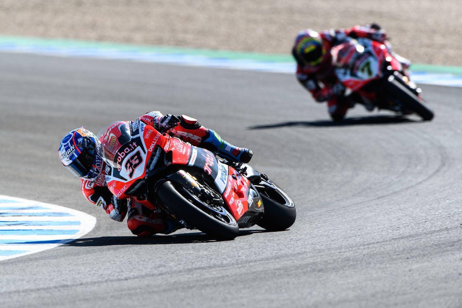 2017 Jerez World Superbike Results: Ducat's Marco Melandri