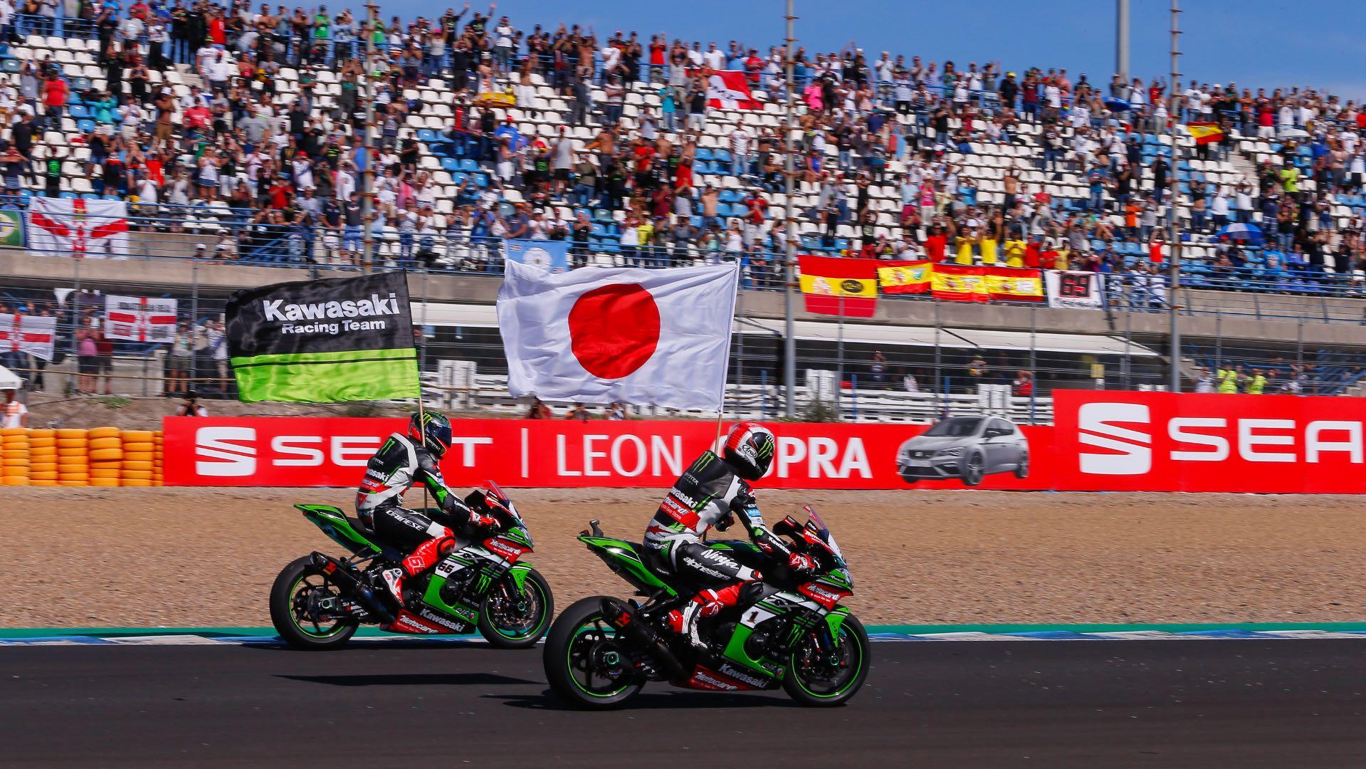 2017 Jerez World Superbike Results Kawasaki manufacturer's title