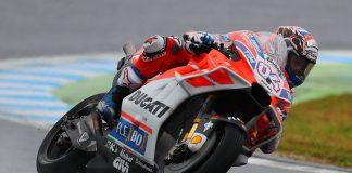 Motegi MotoGP Friday Ducati's Andrea Dovizioso