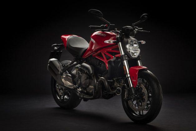 2018 Ducati Monster 821 red