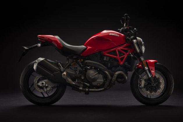 2018 Ducati Monster 821 red price