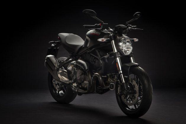2018 Ducati Monster 821 black