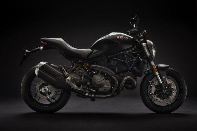 2018 Ducati Monster 821 dark stealth