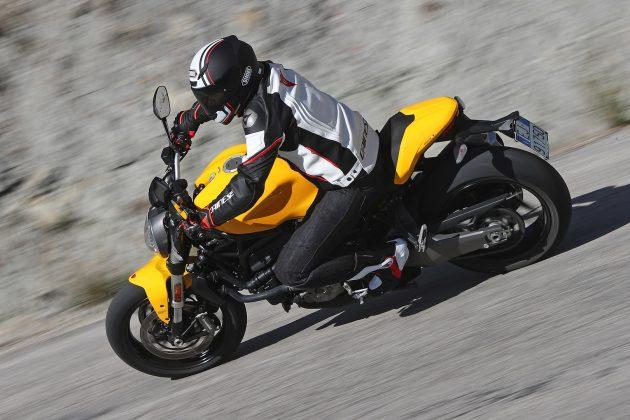 2018 Ducati Monster 821 horsepower
