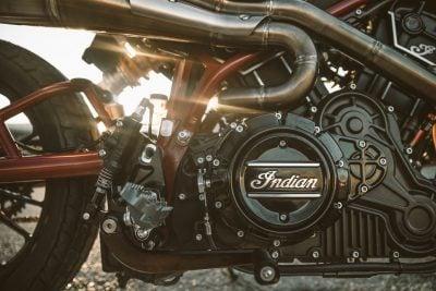 Indian Scout FTR1200 Custom Concept engine