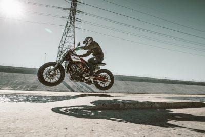 Indian Scout FTR1200 Custom Concept jump