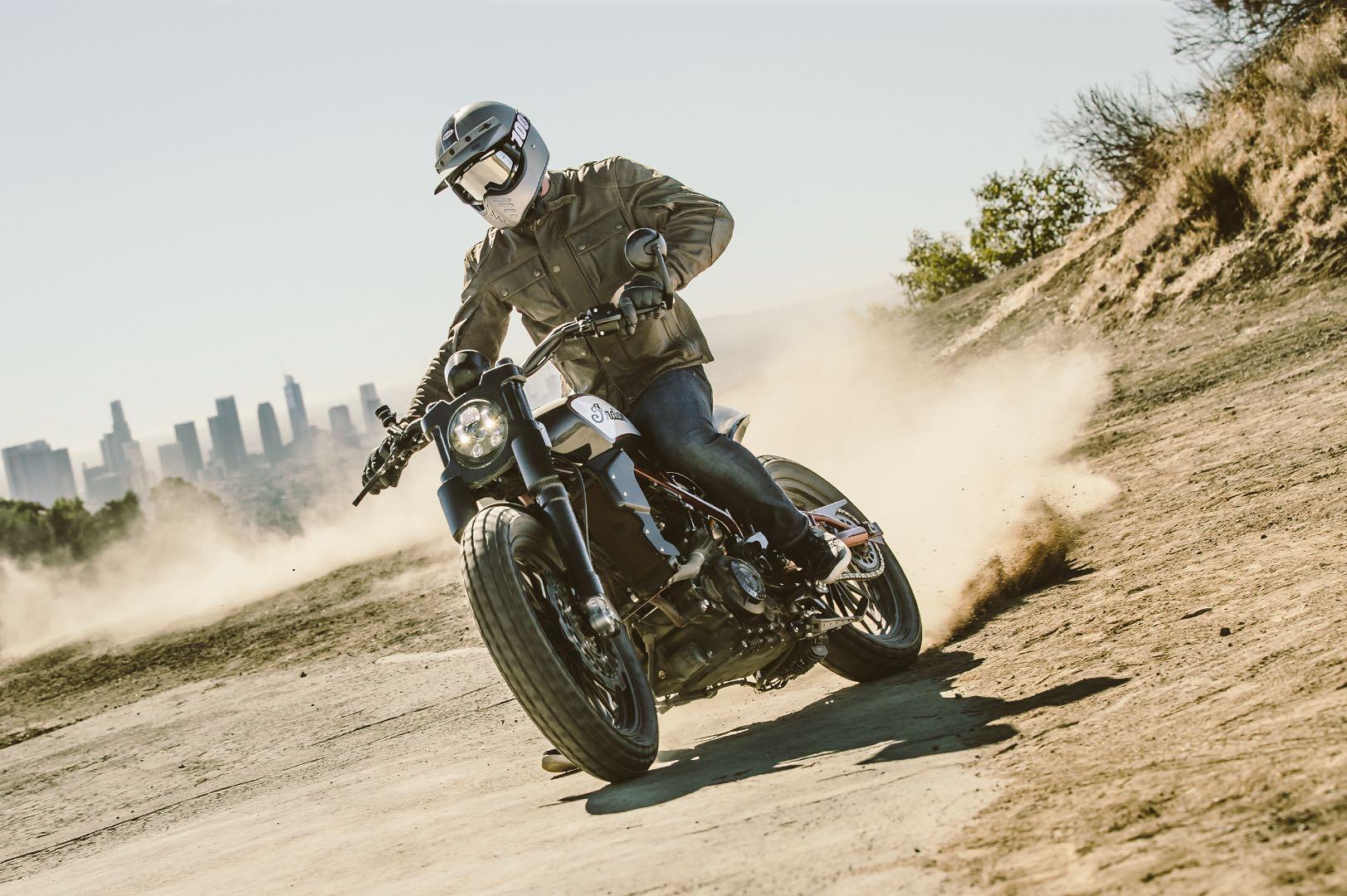 Indian Scout FTR1200 Custom Concept horsepower