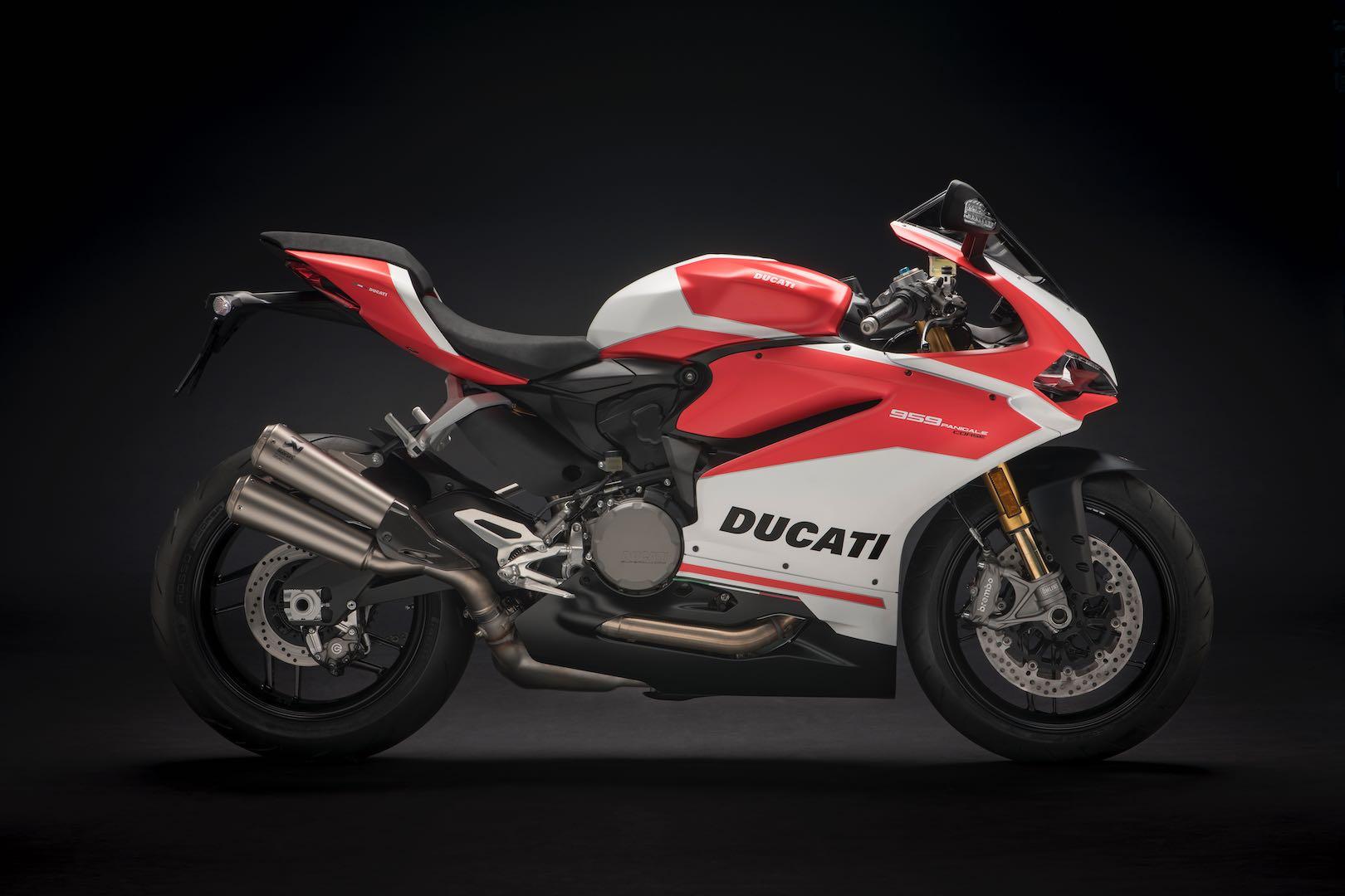 2018 Ducati 959 Panigale Corse horsepower