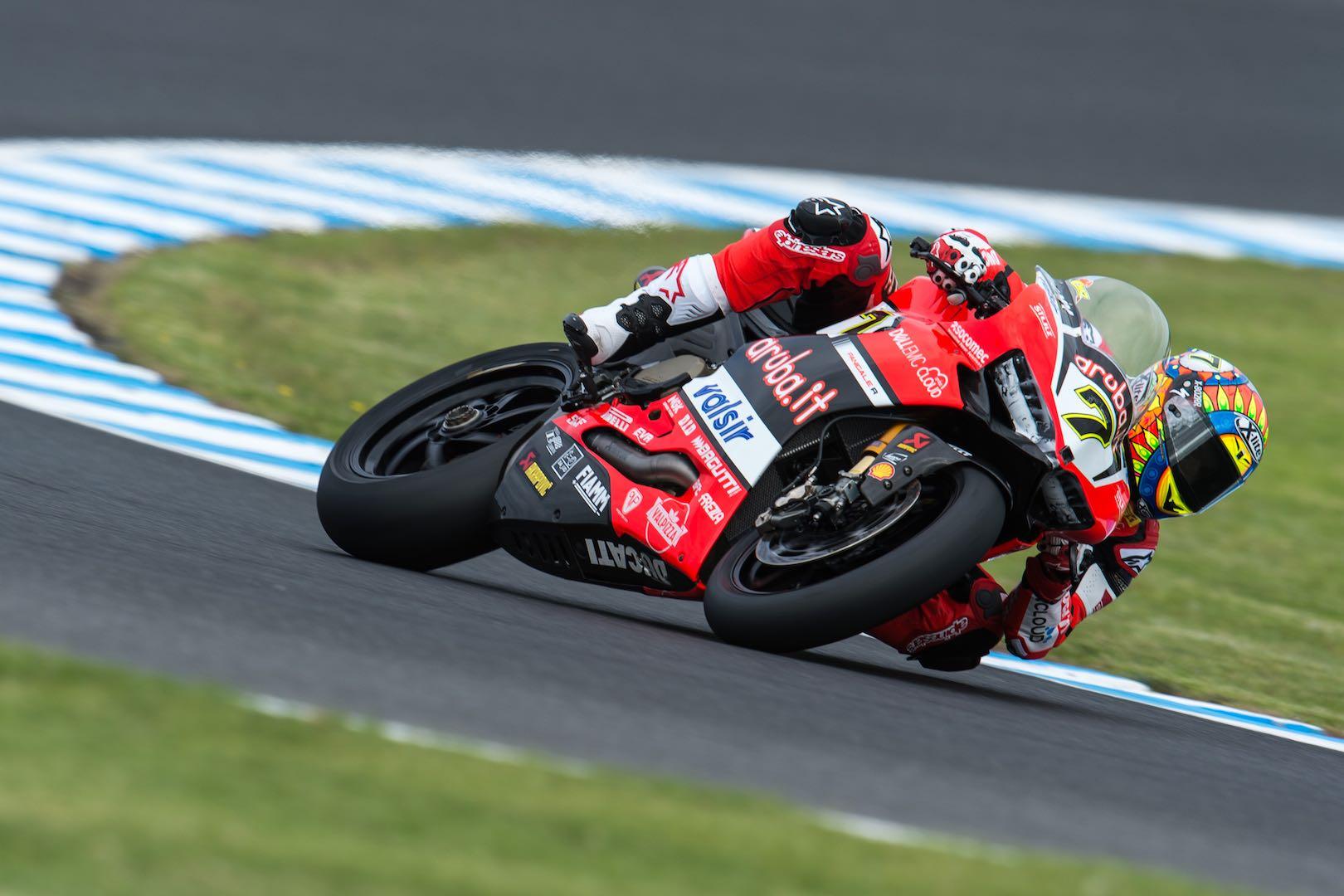 2018 World Superbike Calendar Ducati Chaz Davies
