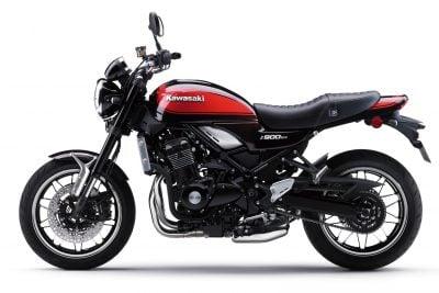 2018 Kawasaki Z900RS black/red