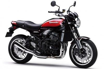 2018 Kawasaki Z900RS wheel sizes