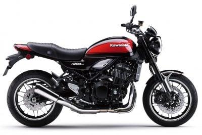 2018 Kawasaki Z900RS exhaust