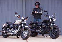 2018 Harley-Davidson Sportster 1200 Custom vs. 2017 Moto Guzzi V9 Bobber
