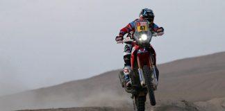 2018 Dakar Rally Stage 6 Results: Honda's Kevin Benavides