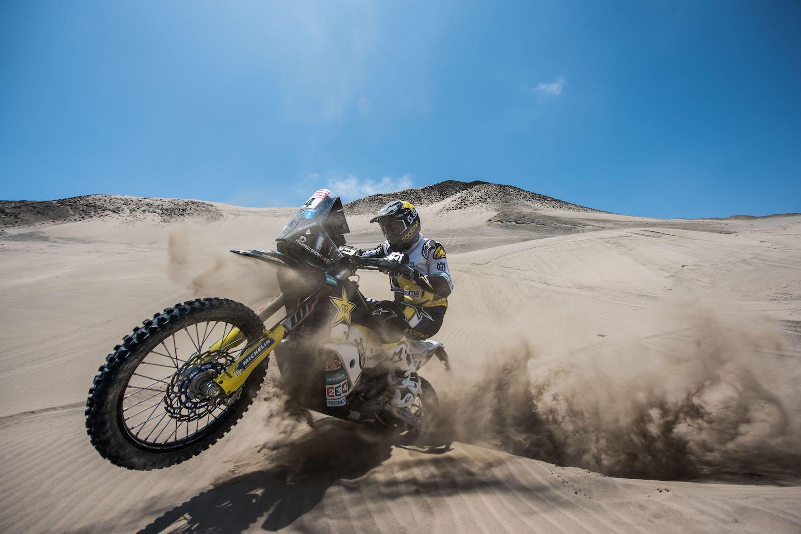 2018 Dakar Rally Motorcycle Preview: Husqvarna's Andrew Short