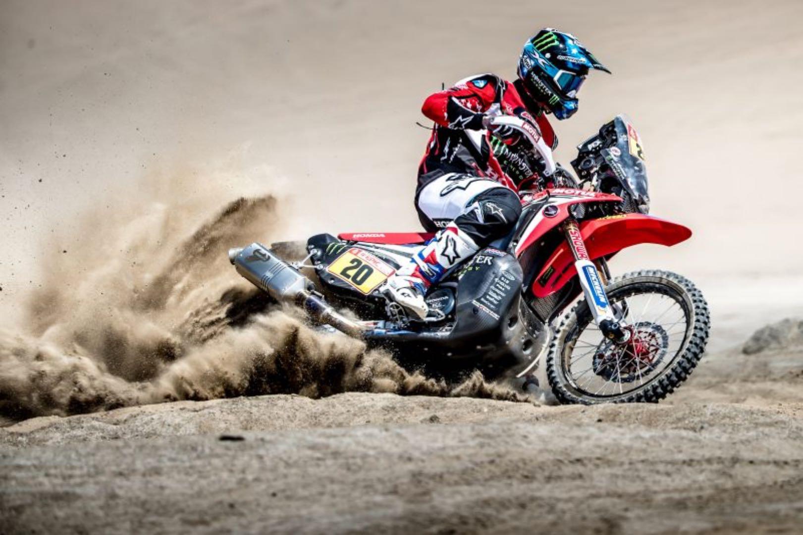 2018 Dakar Rally Motorcycle Preview: Honda's Ricky Brabec