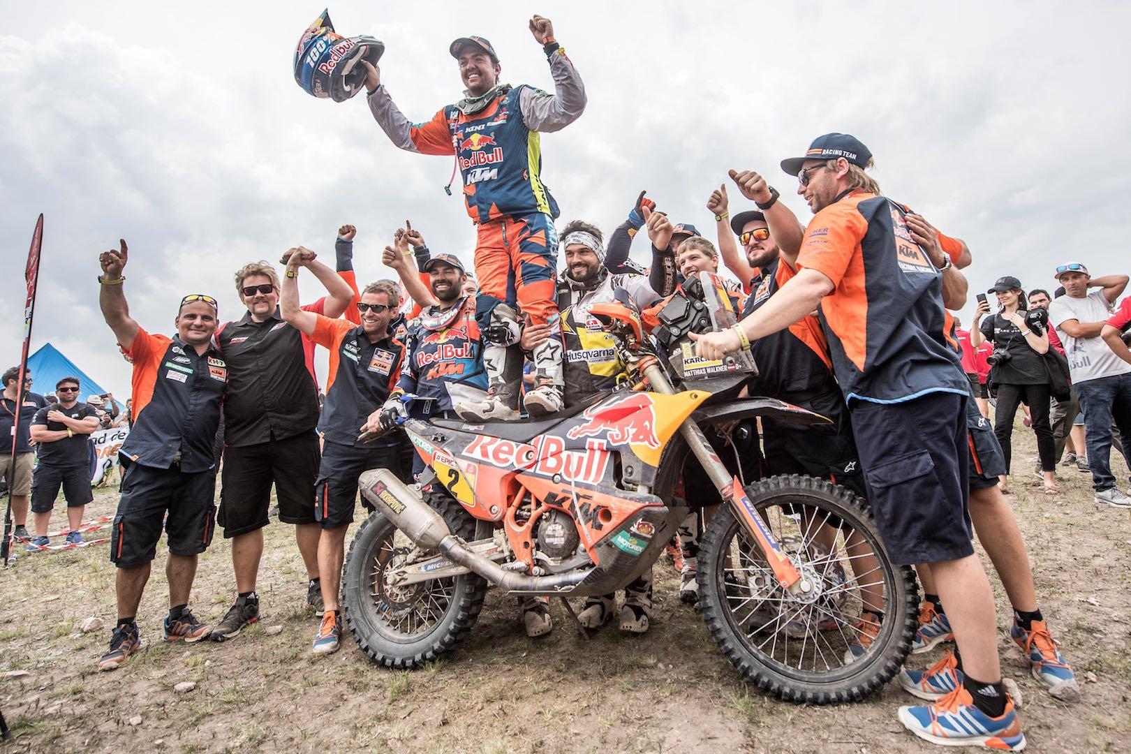 2018 Dakar Rally Motorcycle Results: KTM's Matthias Walkner