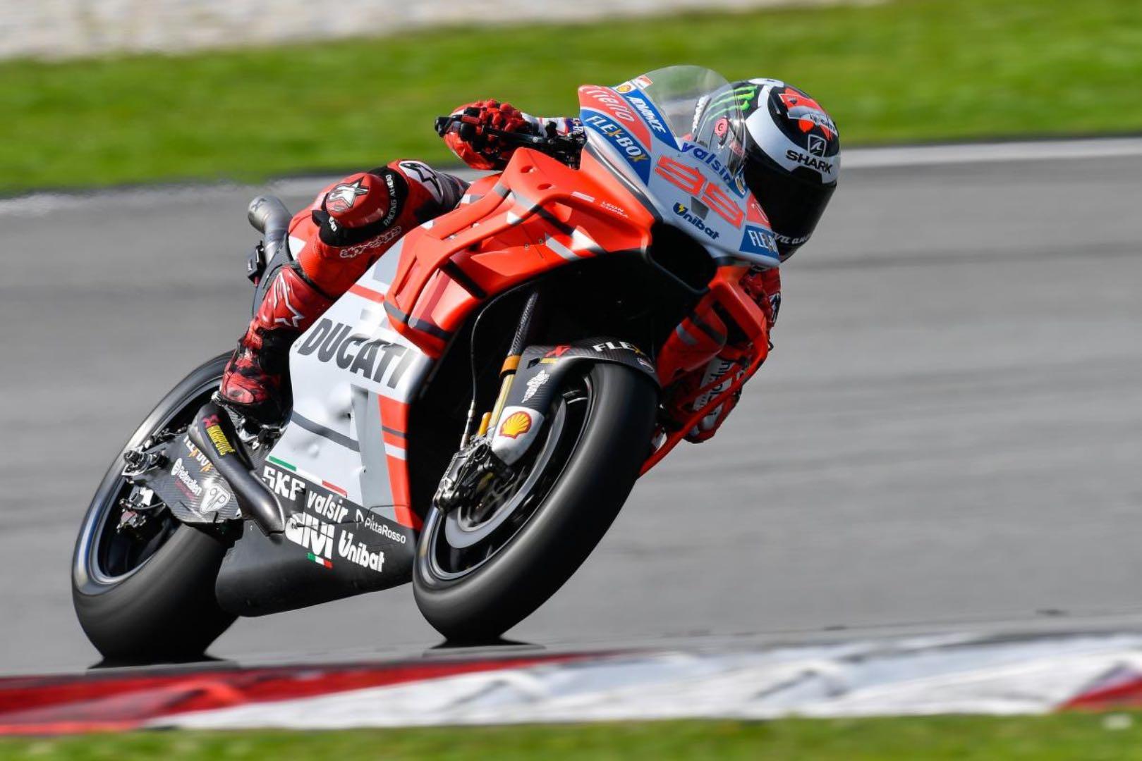 moto gp test 2018