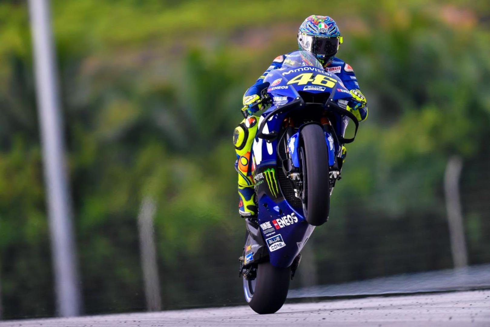 2018 Sepang MotoGP Test Results: Yamaha's Valentino Rossi