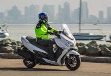2018 Suzuki Burgman 400 scooter Review