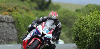 Dan Kneen on Jackson Racing Honda for 2018 Isle of Man TT