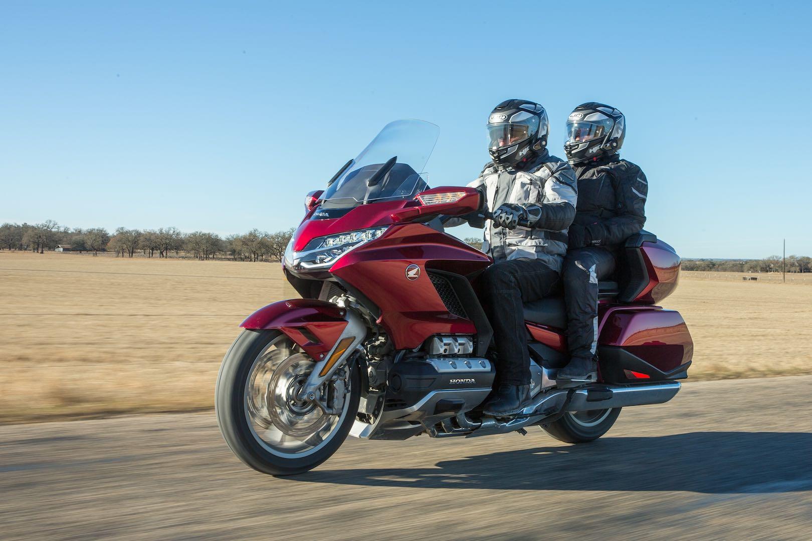 2018 Honda Gold Wing Tour DCT touring Texas